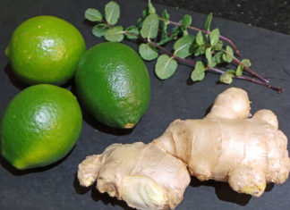 Mint Lime Ginger Juice Recipe