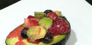 Avocado-with-Strawberry-Sauce-Recipe