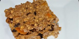 Apricot Nut Baked Oatmeal Recipe
