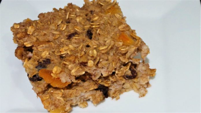 Apricot Nut Baked Oatmeal Recipe