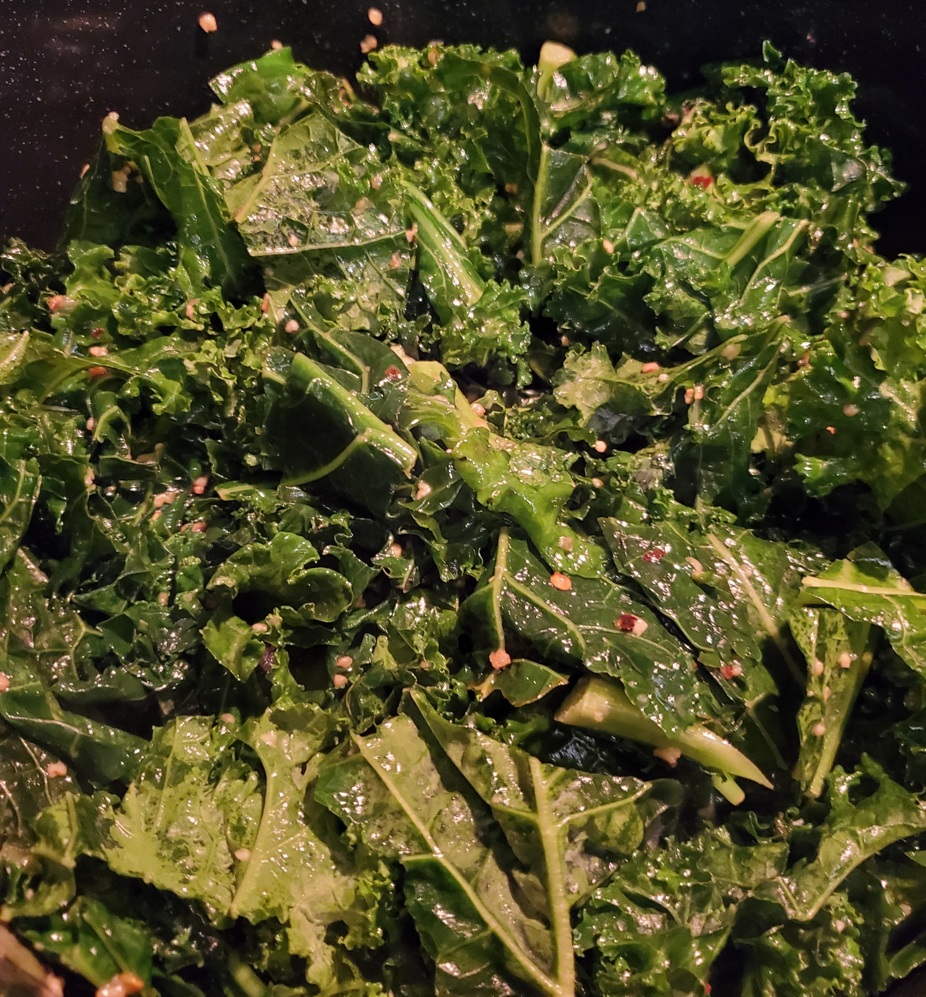 Sauteed Kale with Lemon Garlic Recipe