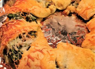 Sausage and Spinach Crescent Ring Recipe